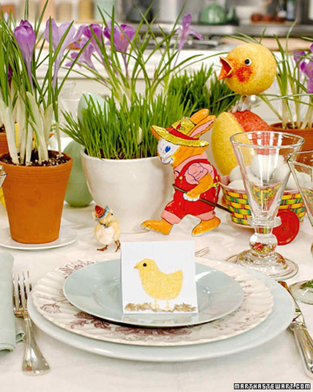 Easter Party Ideas Martha Stewart  Easter Clip Art and Templates