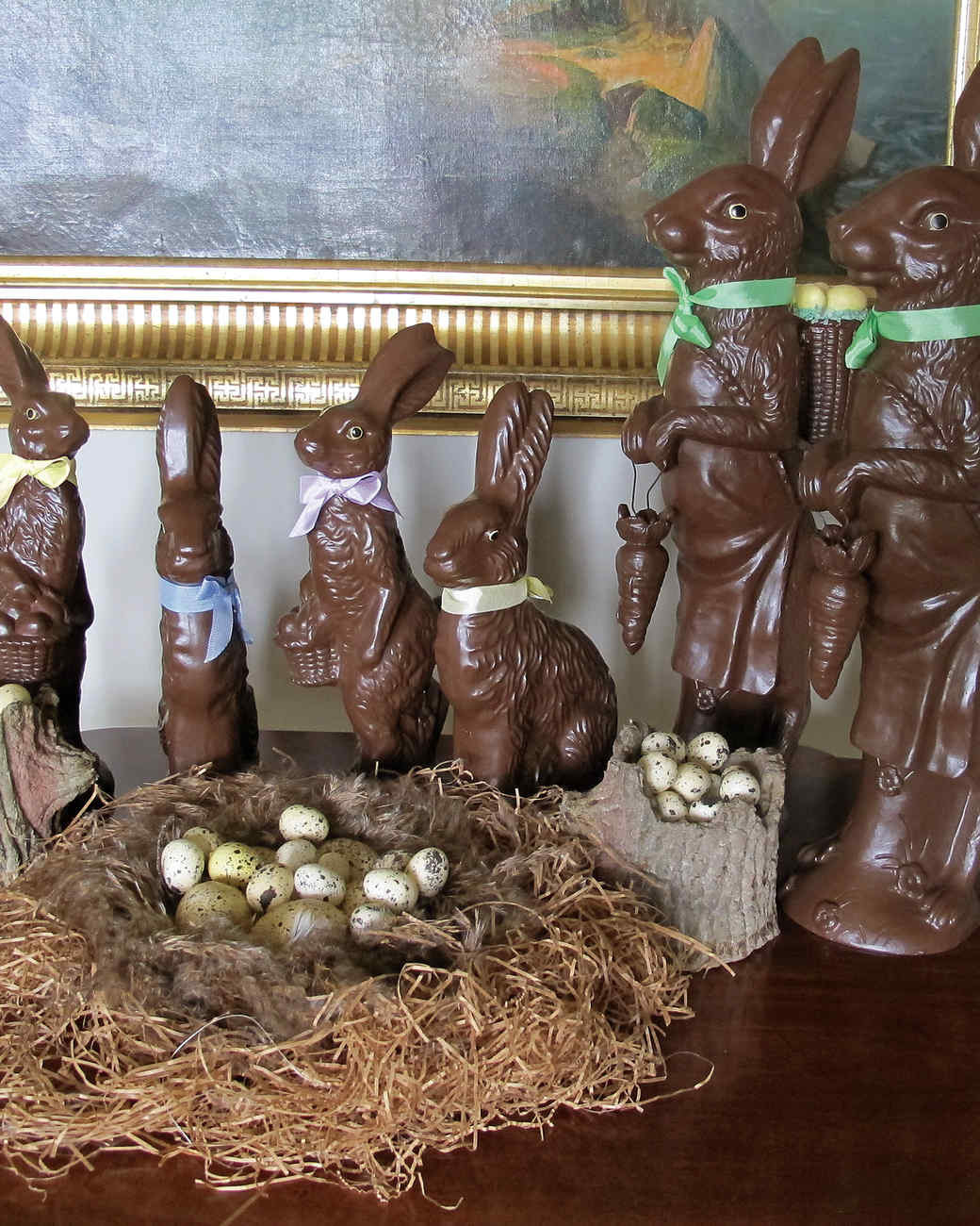 Easter Party Ideas Martha Stewart  Easter Table Crafts and Favors