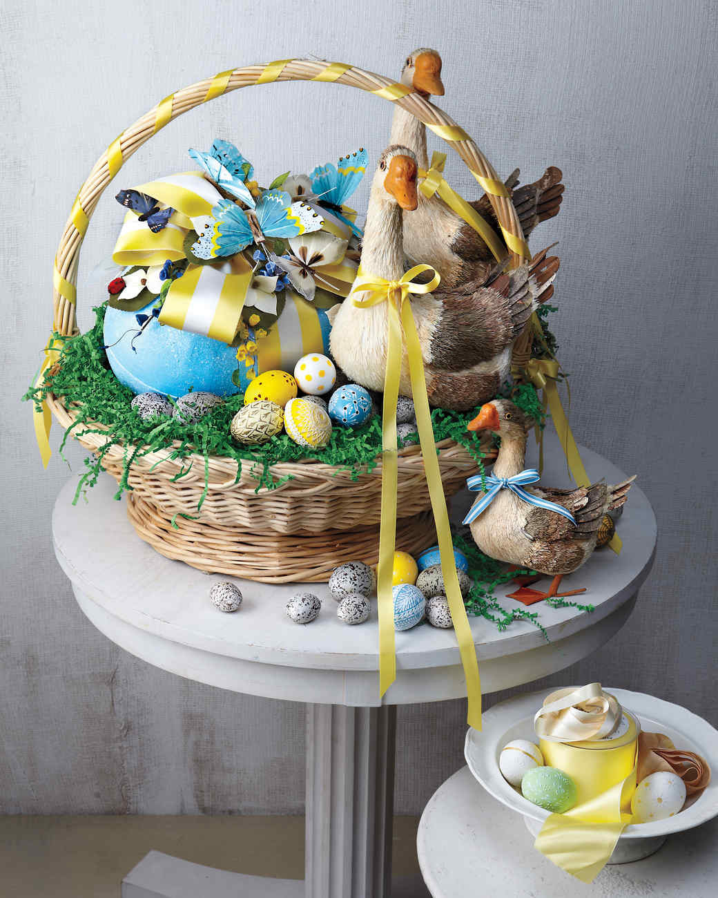 Easter Party Ideas Martha Stewart  See the Stunning Easter Baskets Kevin Sharkey Makes for
