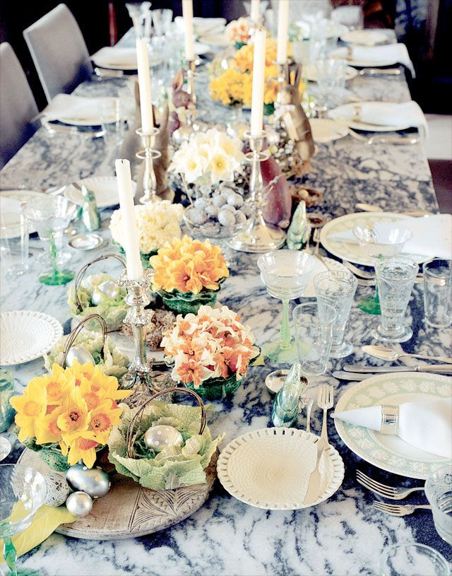Easter Party Ideas Martha Stewart  Exclusive Martha Stewart s Her Easter Entertaining