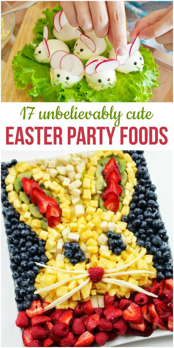 Easter Snack Ideas Party  17 Unbelievably Cute Easter Party Foods for Your Brunch or