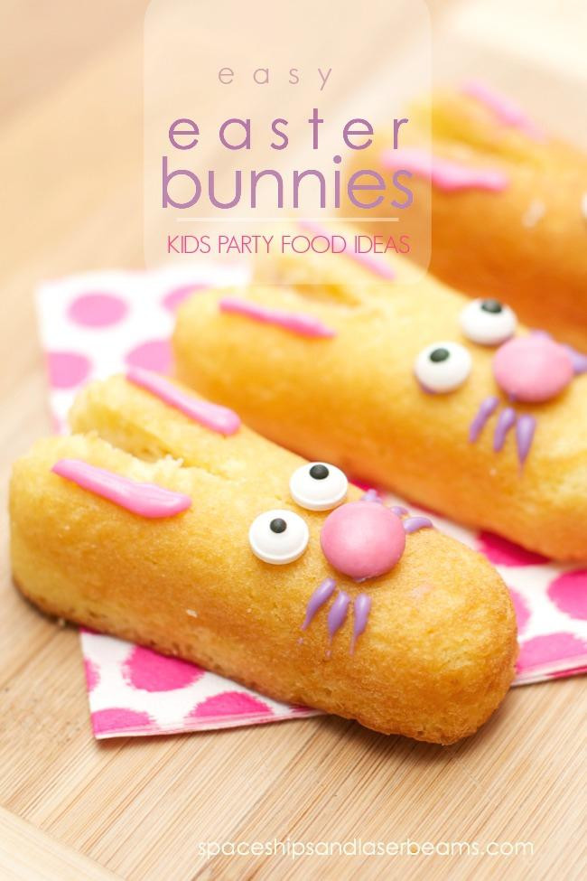 Easter Snack Ideas Party  Kid s Party Food Ideas Easy Easter Bunnies Spaceships