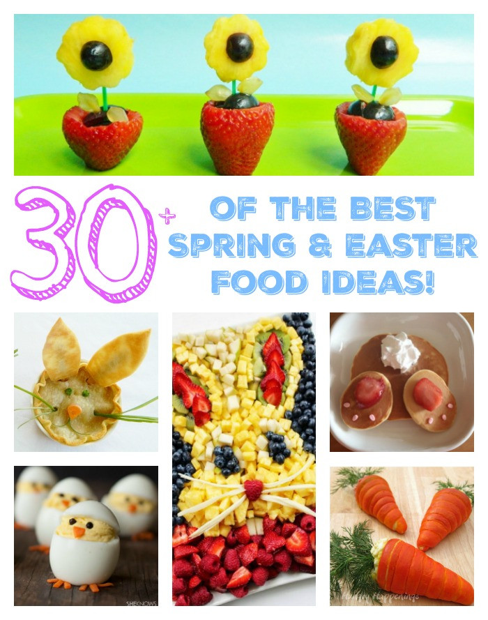Easter Snack Ideas Party  The BEST Spring & Easter Food Ideas Kitchen Fun With My