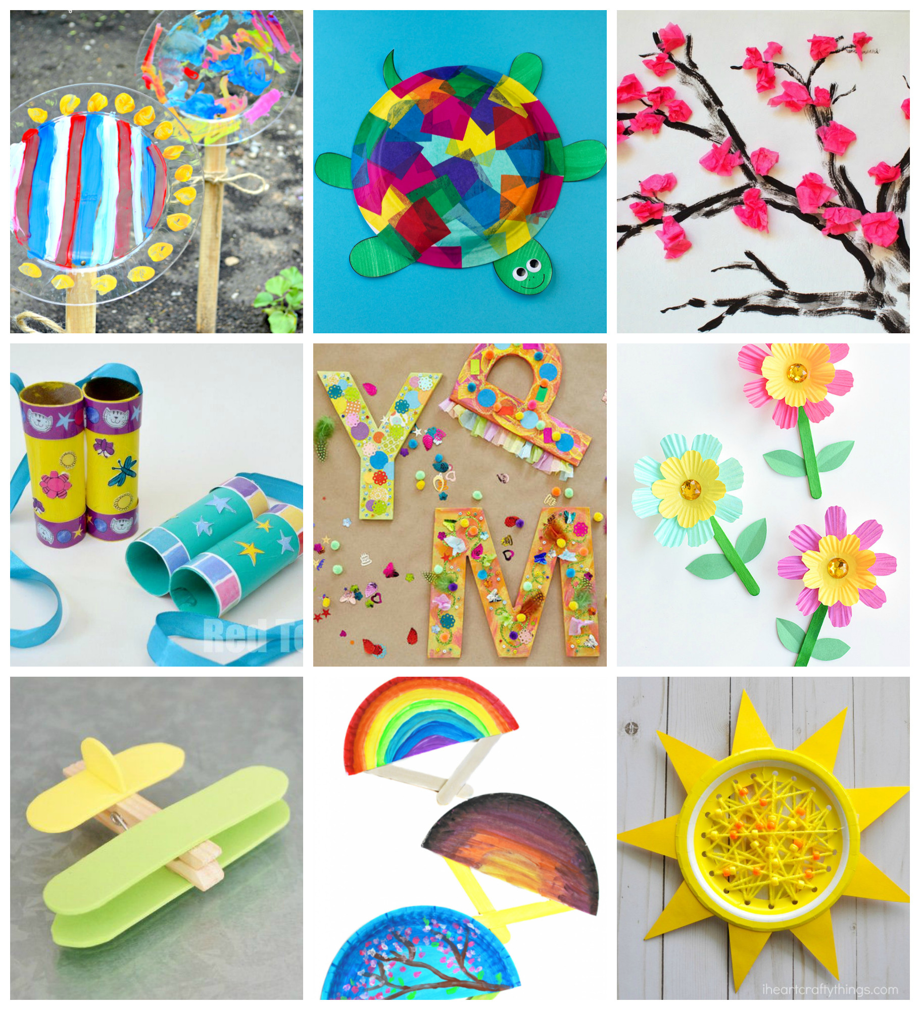 Easy Craft Ideas For Kids  50 Quick & Easy Kids Crafts that ANYONE Can Make