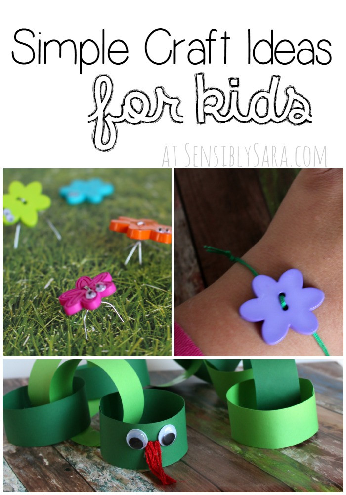 Easy Craft Ideas For Kids  Simple Craft Ideas for Kids
