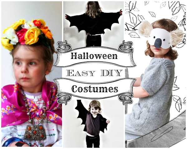 Easy DIY Costumes For Kids  Easy DIY Halloween Costumes for Kids