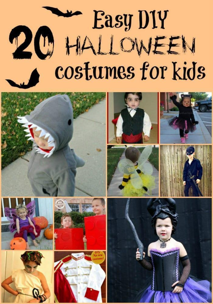 Easy DIY Costumes For Kids  20 Easy DIY Halloween Costume Ideas for Kids
