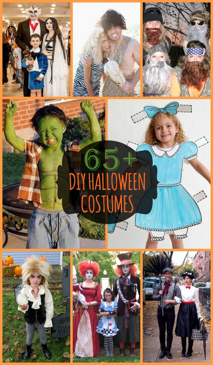 Easy DIY Costumes For Kids  DIY Halloween Kids Costumes