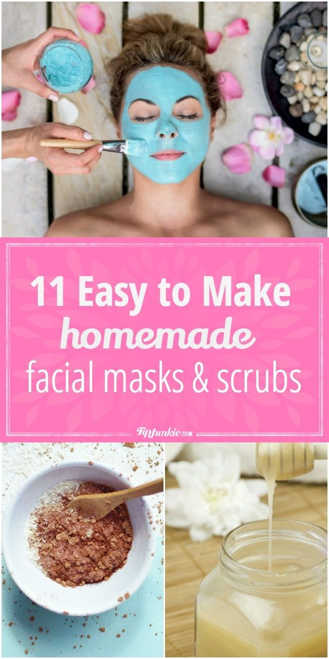 Easy DIY Face Mask  25 best ideas about Facial masks on Pinterest