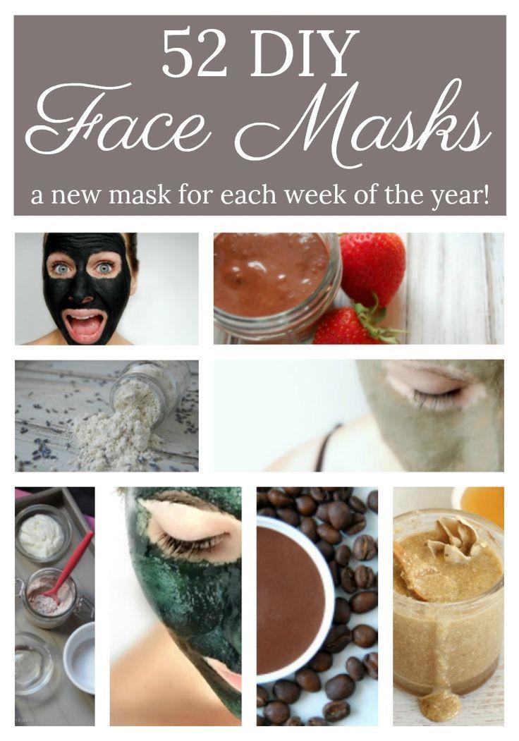 Easy DIY Face Mask  52 DIY Face Mask Recipes DIY