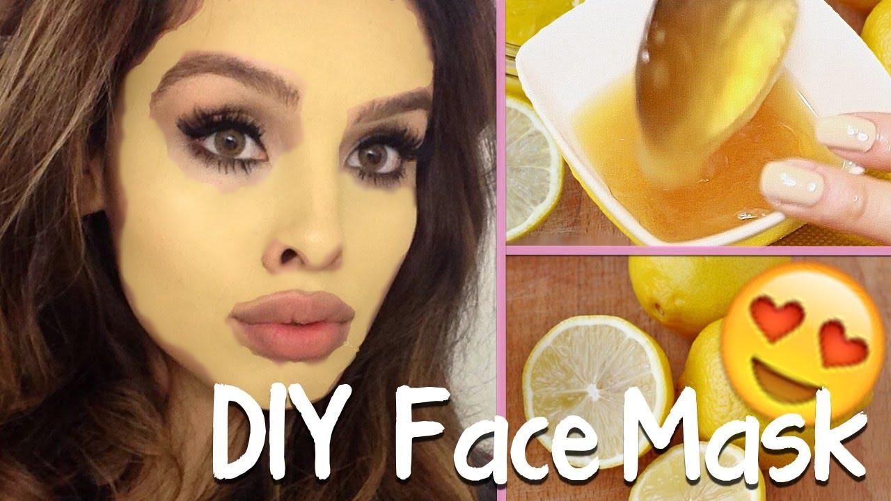 Easy DIY Face Mask  DIY face mask for oily acne prone skin