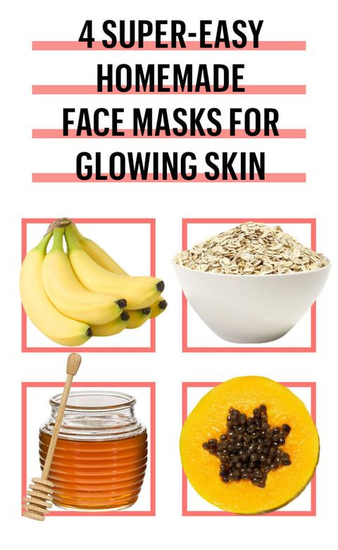 Easy DIY Face Mask  6 Easy DIY Face Mask Recipes Best Homemade Face Masks