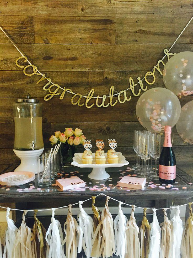 Elegant Engagement Party Ideas  Best 25 Elegant bridal shower ideas on Pinterest