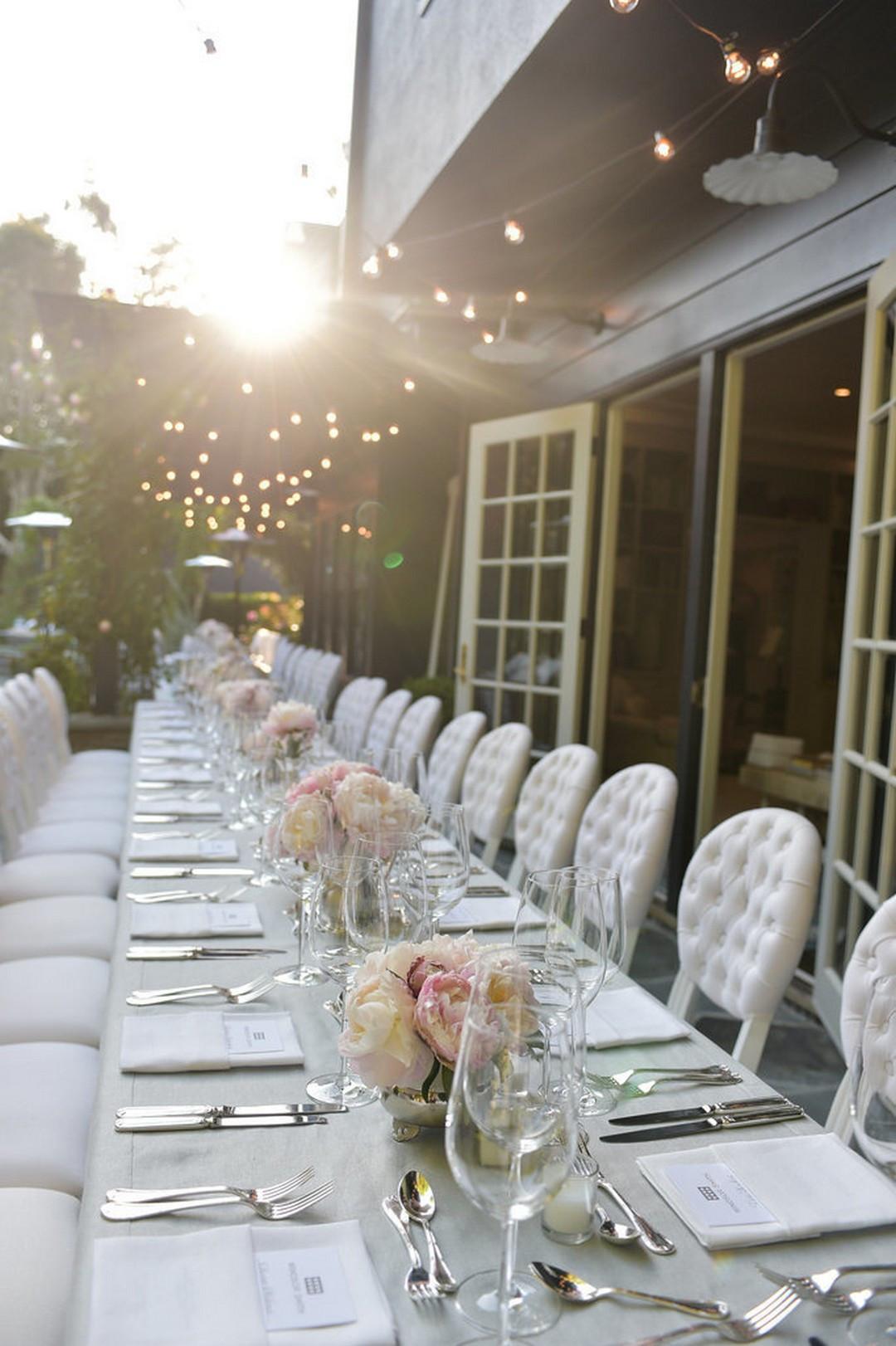 Elegant Engagement Party Ideas  Elegant Wedding Table Settings Ideas 23 echitecture