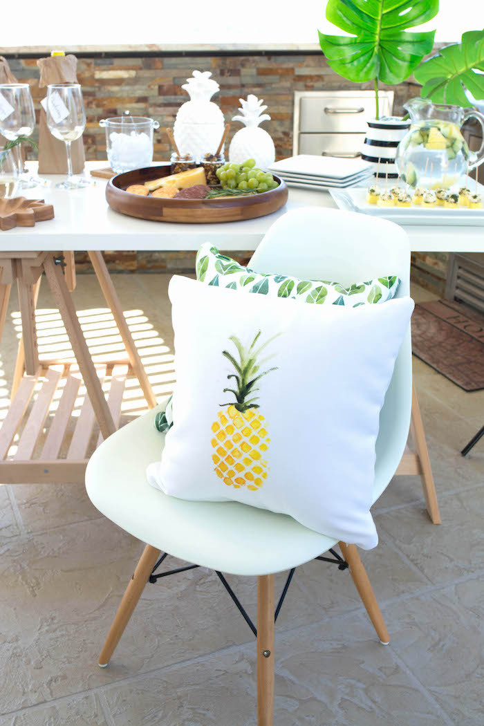 End Of Summer Party Ideas  Kara s Party Ideas End of Summer Pineapple Themed Girls