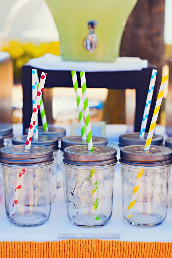 End Of Summer Party Ideas  Kara s Party Ideas End of Summer Vintage Beach Party Full