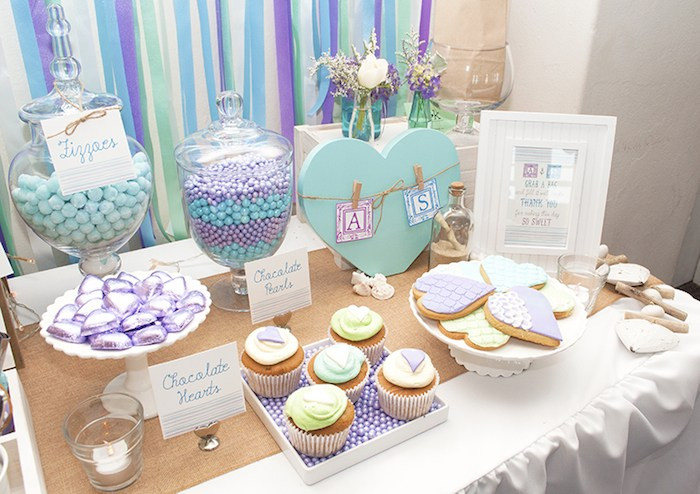 Engagement Party Theme Ideas  Kara s Party Ideas Beach Themed Engagement Party Planning