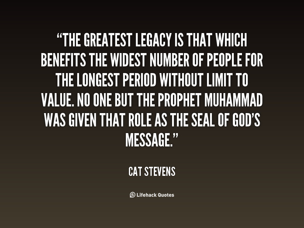 Family Legacy Quotes  Legacy Quotes QuotesGram