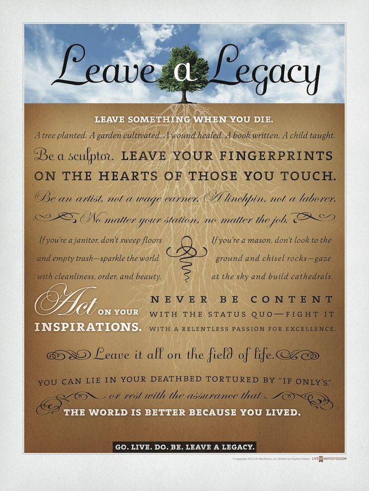 Family Legacy Quotes  119 best Legacy images on Pinterest