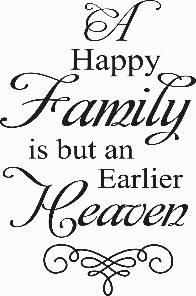 Family Quotes  Happy Family Quotes QuotesGram