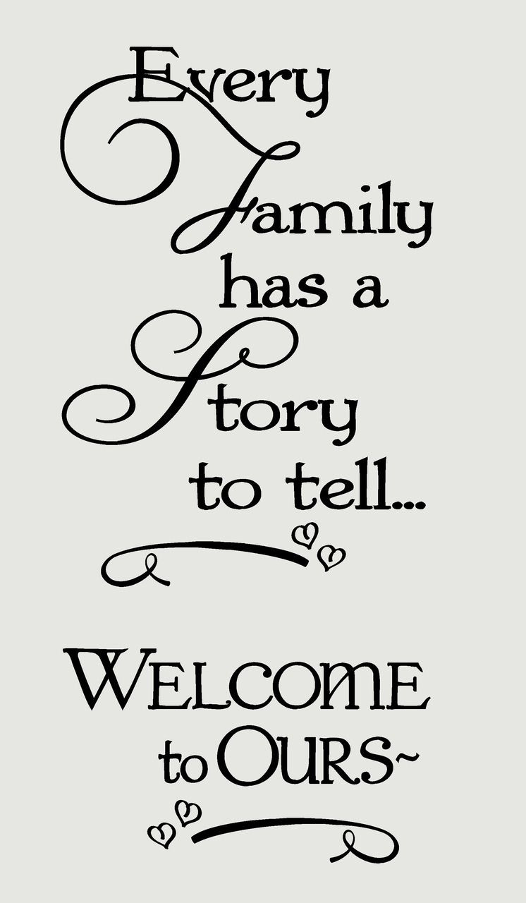 Family Quotes  Wel e Quotes on Pinterest