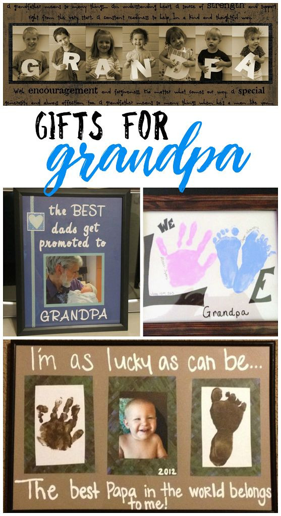Father'S Day Gift Ideas For Grandpa  25 best ideas about Grandpa Birthday Gifts on Pinterest