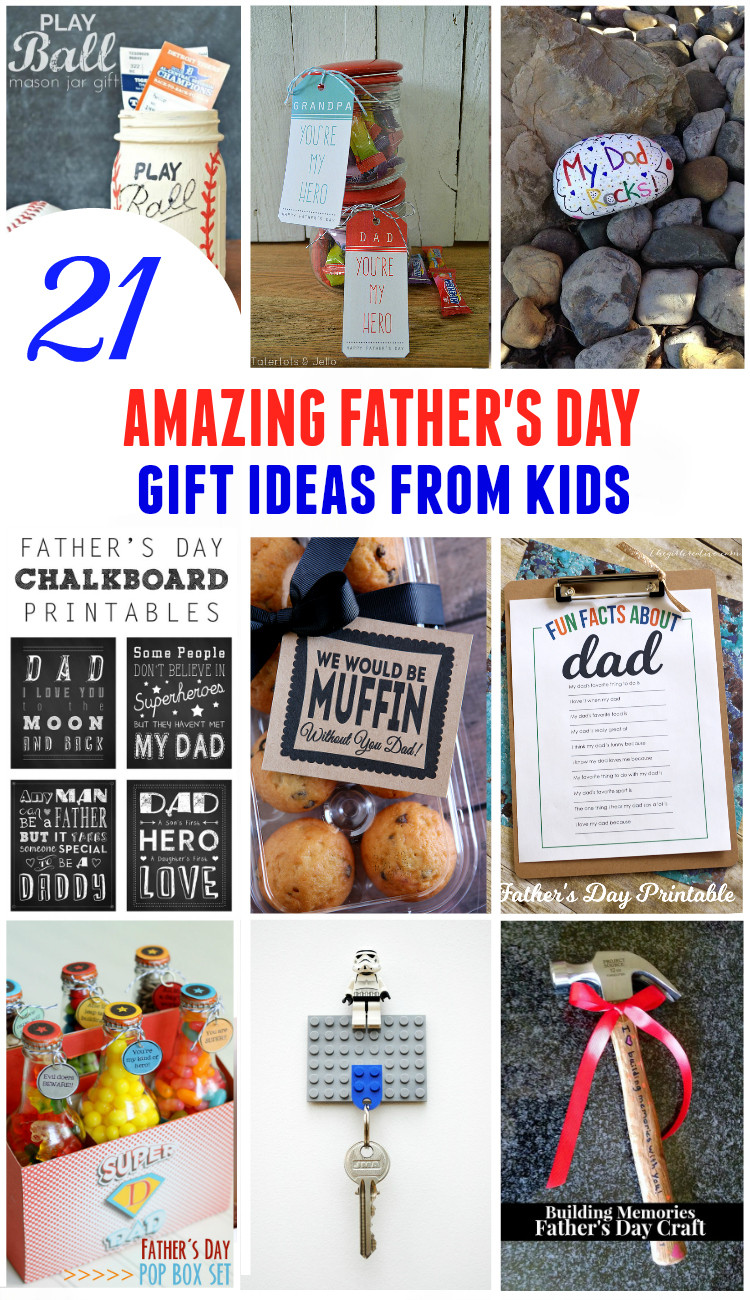 Father'S Day Gift Ideas From Child  21 Amazing Fathers Day Gifts from Kids