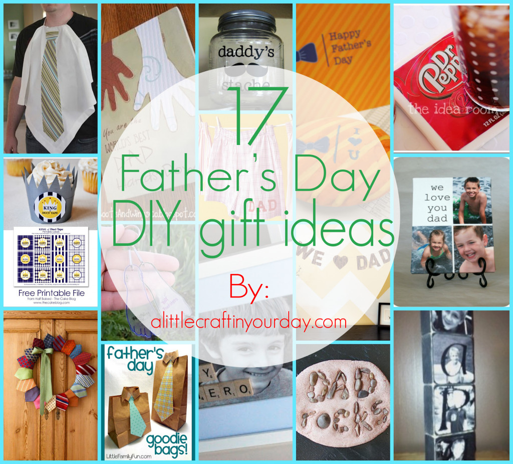 Father'S Day Gift Ideas From Child  17 Fathers Day DIY Gifts A Little Craft In Your Day