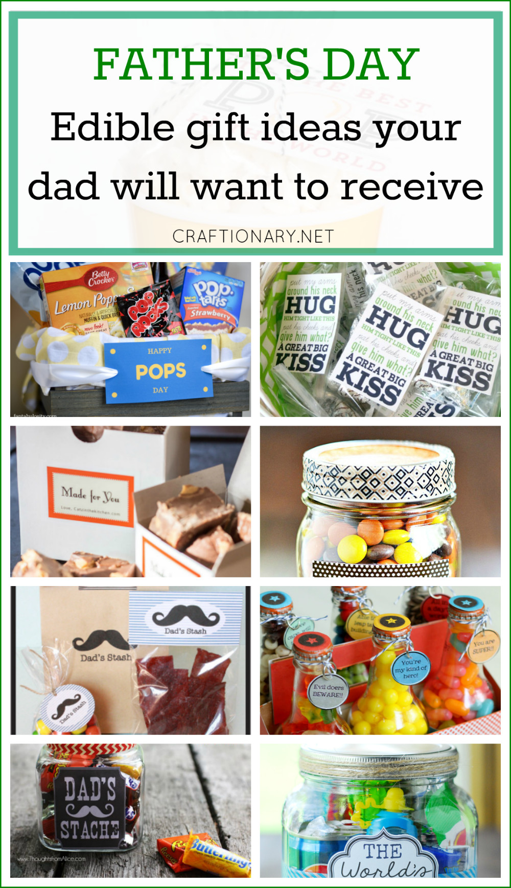 Father'S Day Gift Ideas From Child  Craftionary