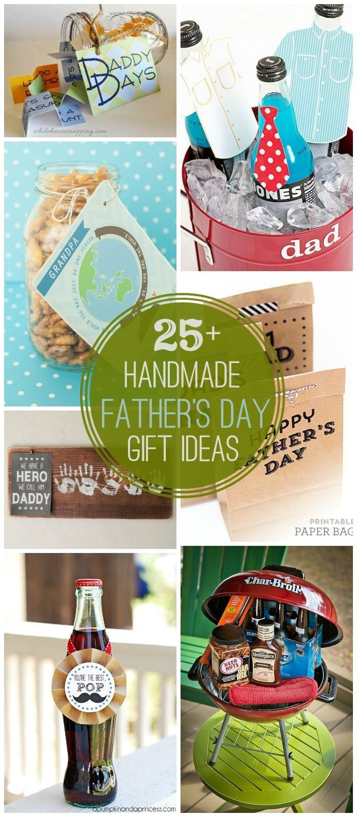 Father'S Day Gift Ideas From Child  25 DIY Father s Day Gift Ideas a great collection of