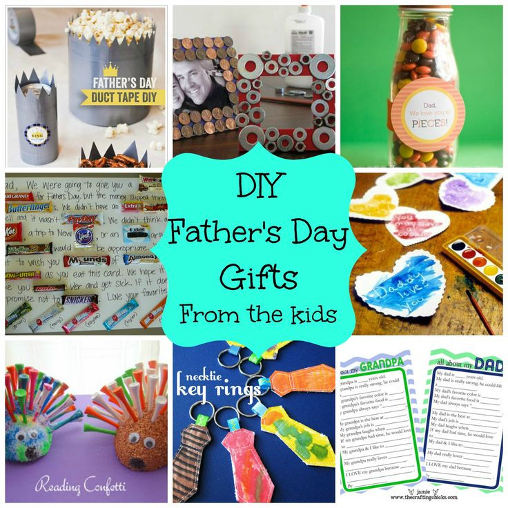 Father'S Day Gift Ideas From Child  diy kids presents for dad