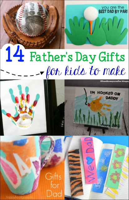 Father'S Day Gift Ideas From Child  Kid Made Father s Day Gifts Mess for Less