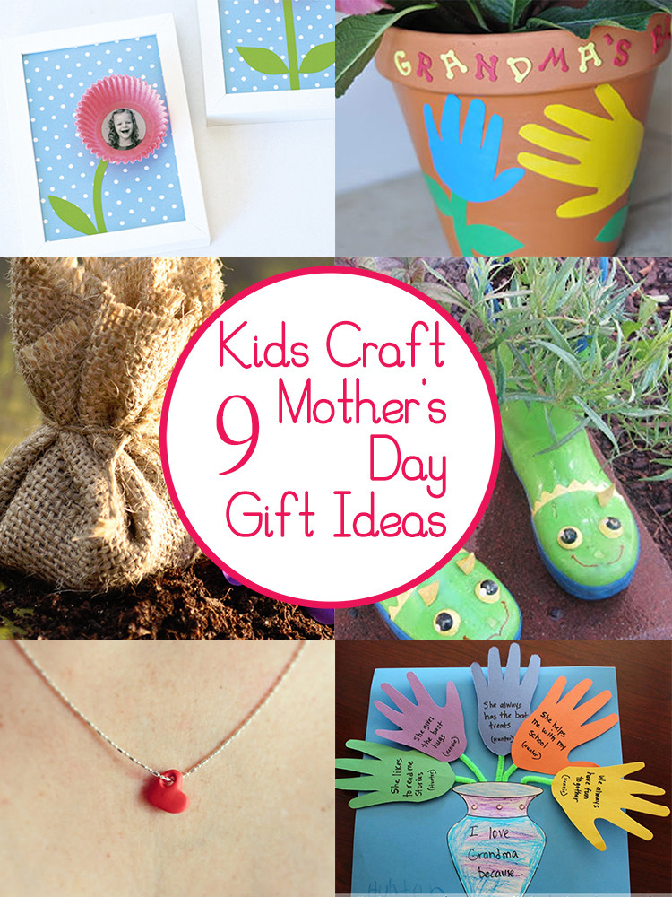 Father'S Day Gift Ideas From Child  9 Mother s Day Crafts and Gifts Kids Can Make Tips from