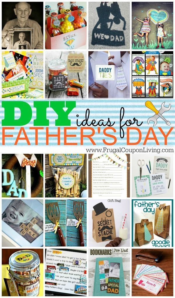 Father'S Day Gift Ideas From Child  DIY Fathers Day Gift Ideas with FREE Printables for Him