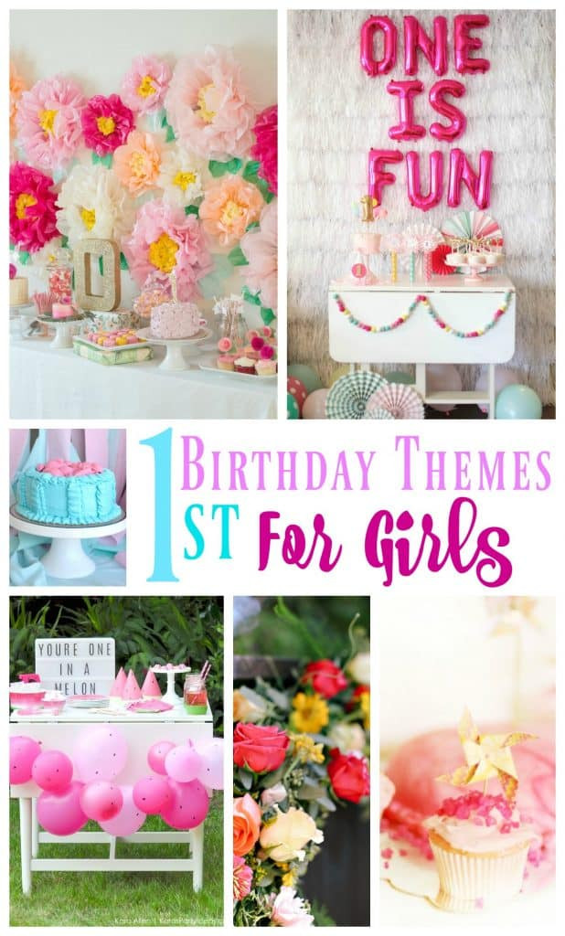 First Birthday Gift Ideas For Girls  20 1st Birthday Themes For Girls Stylish Cravings