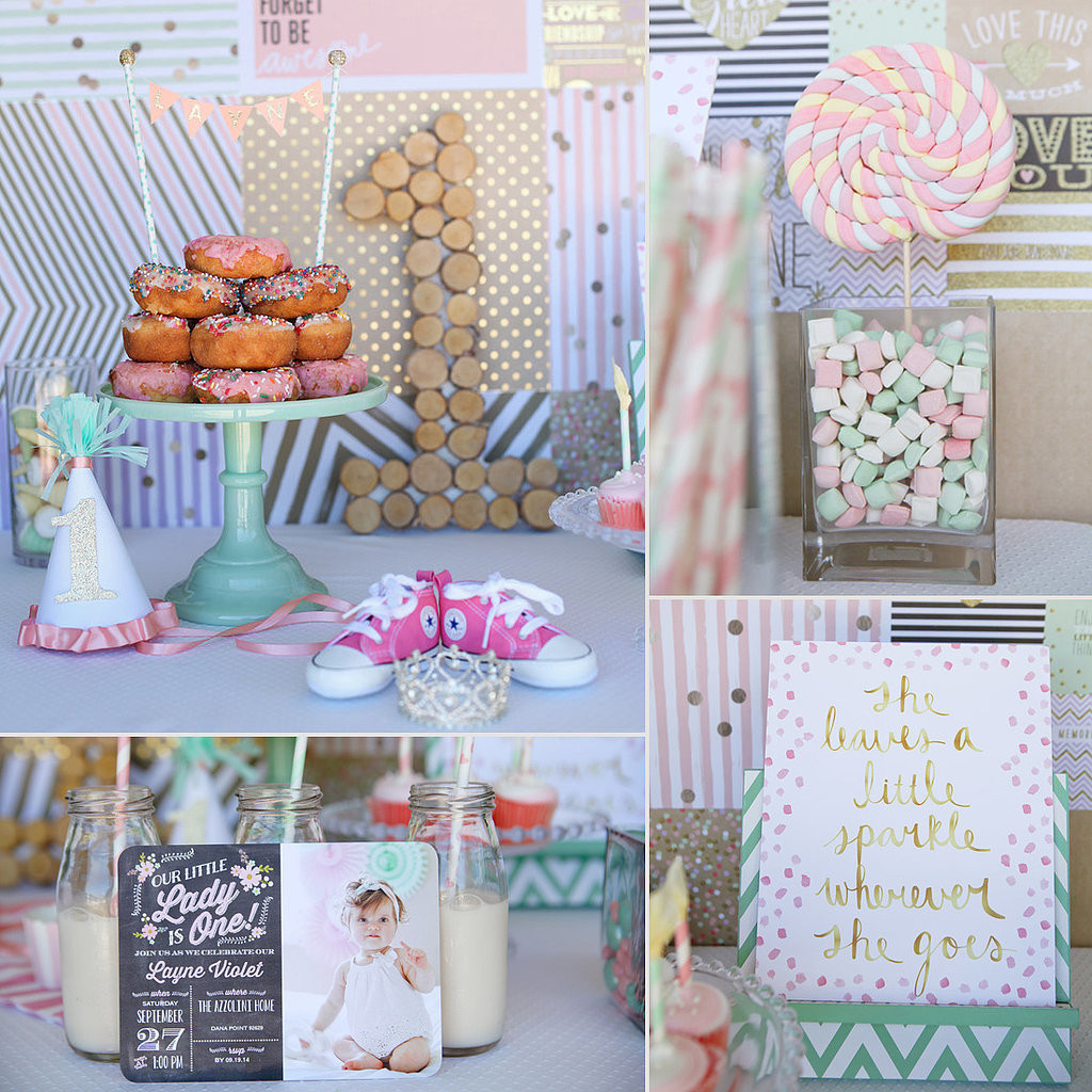 First Birthday Gift Ideas For Girls  First Birthday Party Ideas For Girls