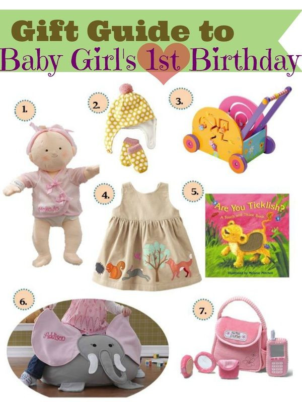 First Birthday Gift Ideas For Girls  Gift ideas for baby girls first birthday