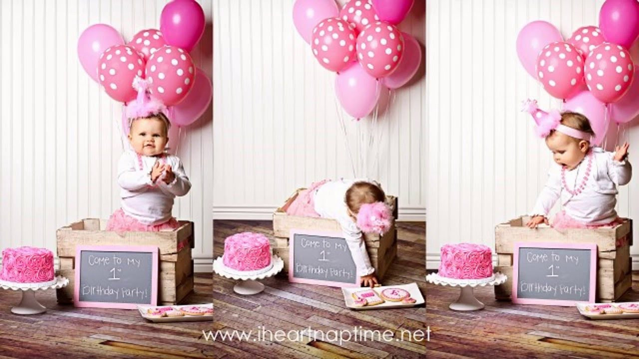 First Birthday Gift Ideas For Girls  First birthday party decor ideas for girls
