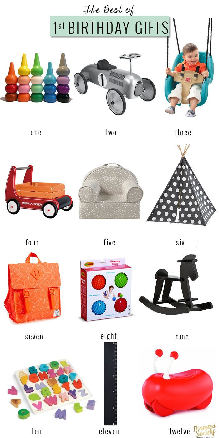 First Birthday Gift Ideas For Girls  The Best First Birthday Gifts For The Modern Baby