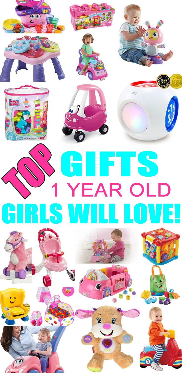 First Birthday Gift Ideas For Girls  Best Gifts for 1 Year Old Girls