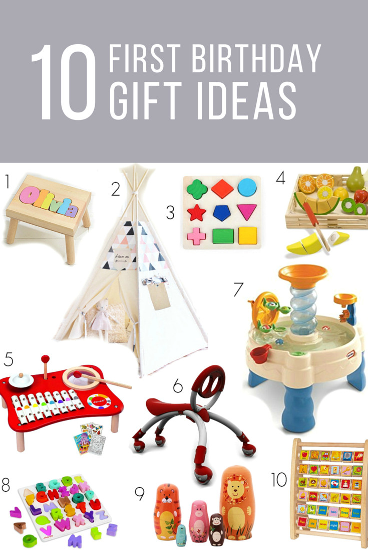 First Birthday Gift Ideas For Girls  first birthday t ideas for girls or boys …