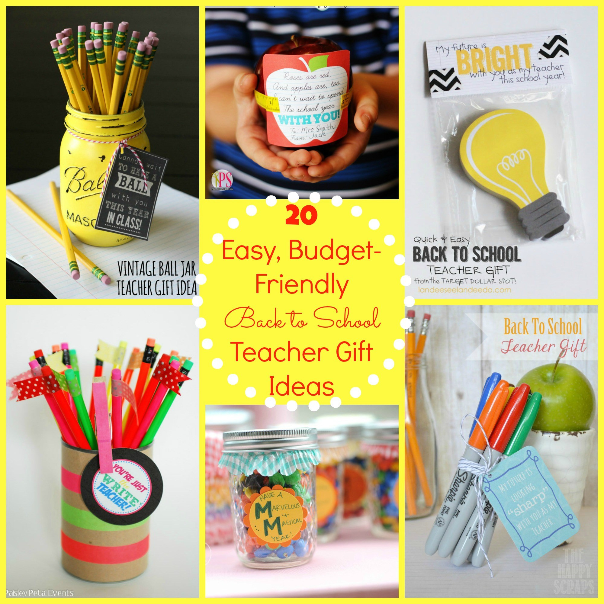 First Valentine'S Day Gift Ideas  Back to School Gift Ideas for the Teacher Happy Home Fairy
