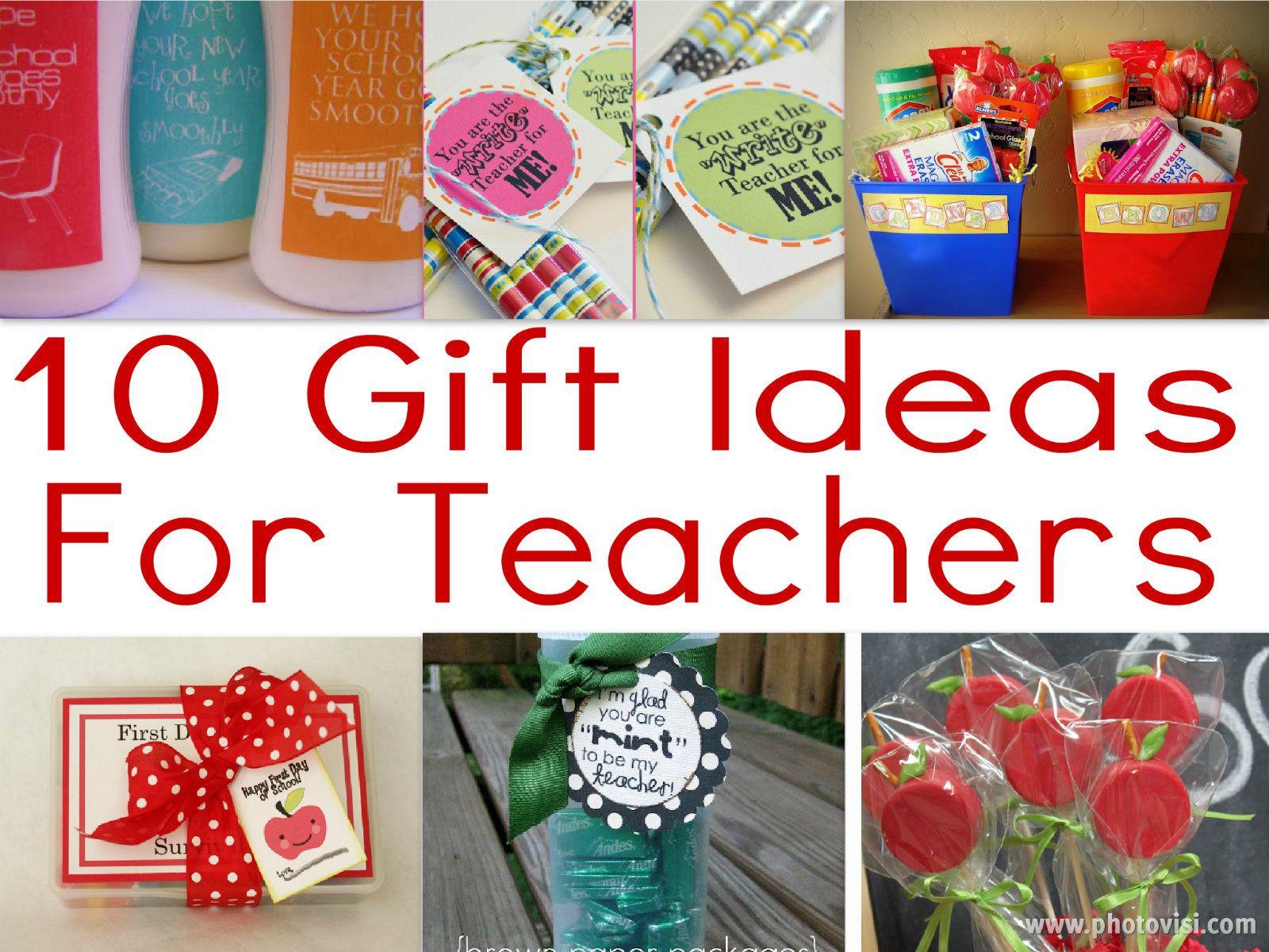 First Valentine'S Day Gift Ideas  Teacher Gift Ideas For Beginning The Year