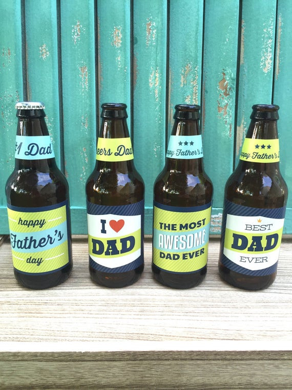 First Valentine'S Day Gift Ideas  Fathers Day Beer Labels Gift for Dad Fathers Day Gift for