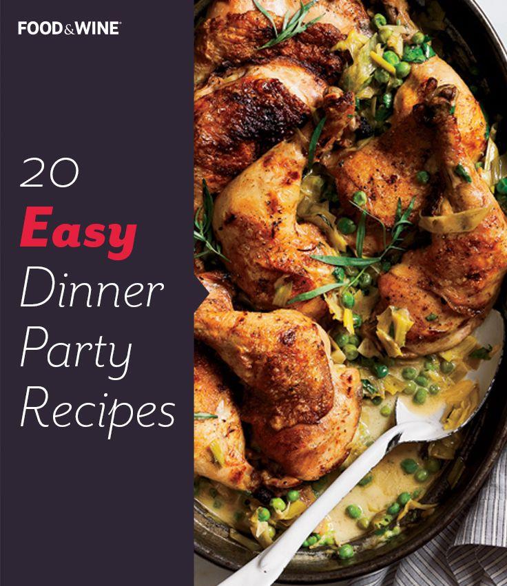 Food Ideas For Dinner Party  Best 25 Elegant dinner party ideas on Pinterest