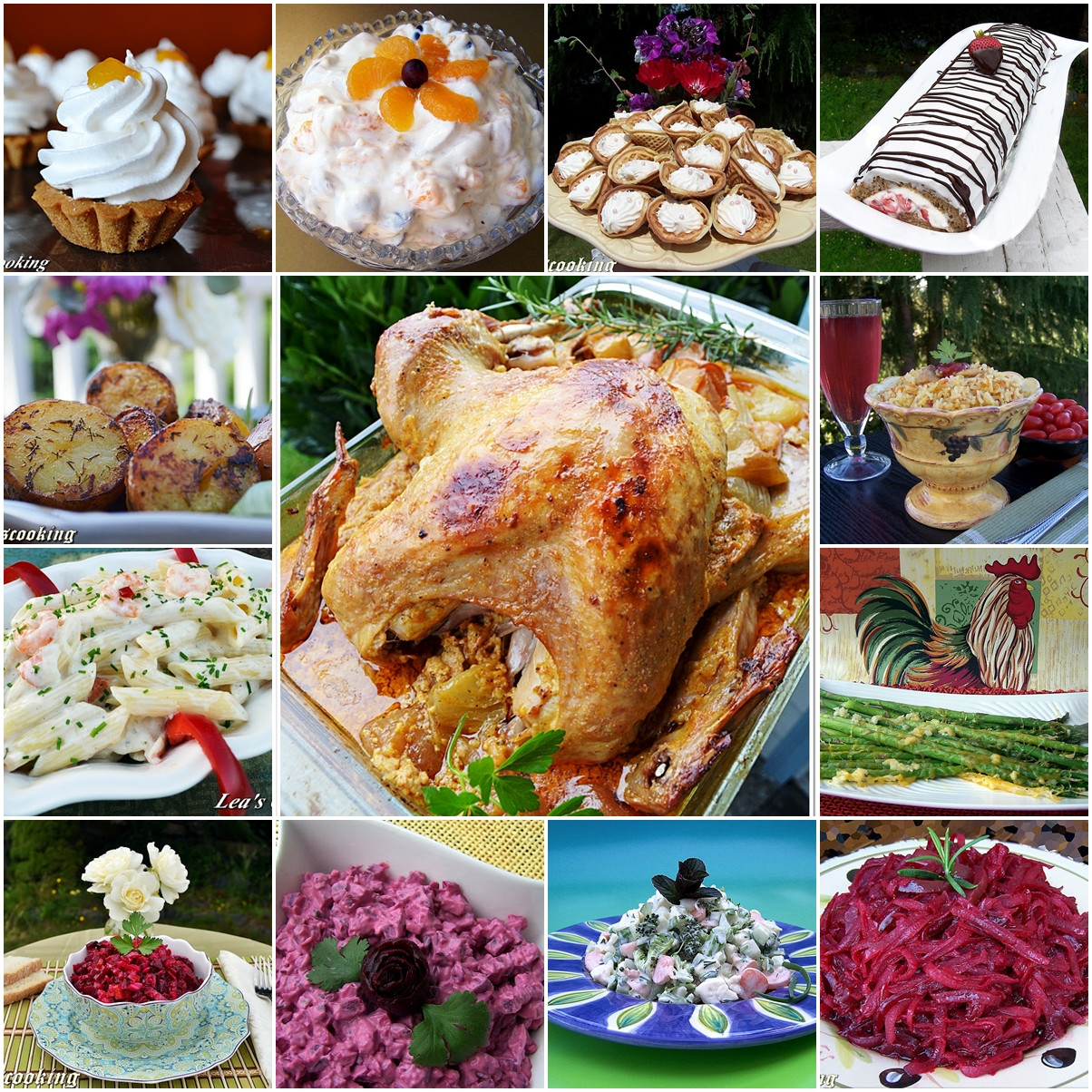 """Food Ideas For Dinner Party  Lea s Cooking """"Thanksgiving Dinner Party Ideas"""""""