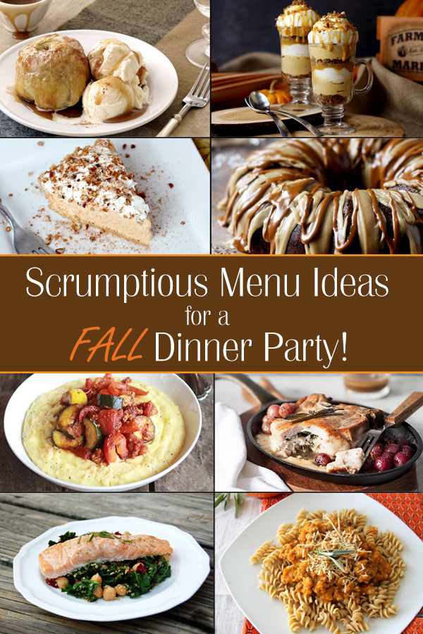 Food Ideas For Dinner Party  Fall Dinner Party Ideas
