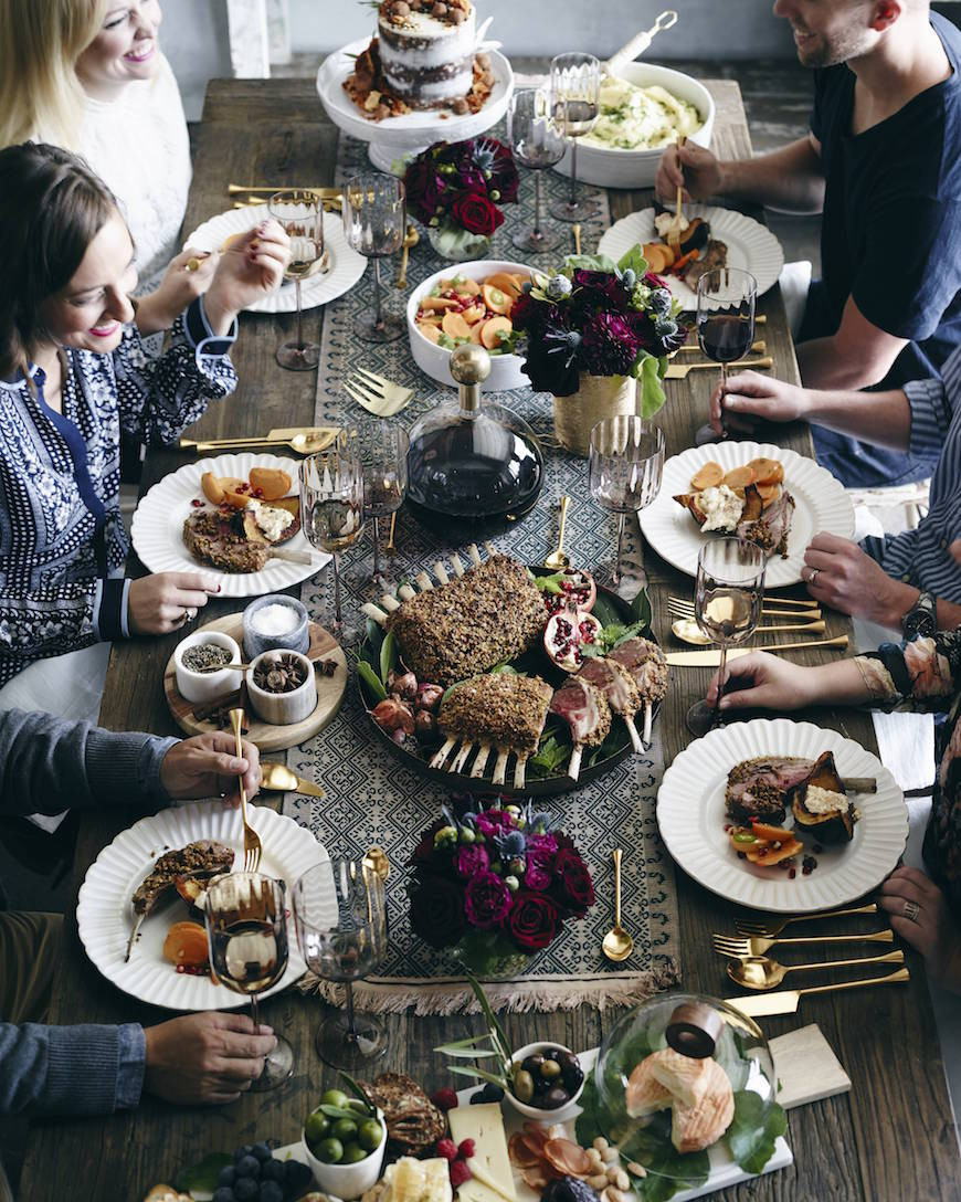 Food Ideas For Dinner Party  Winter Dinner Party Menu What s Gaby Cooking