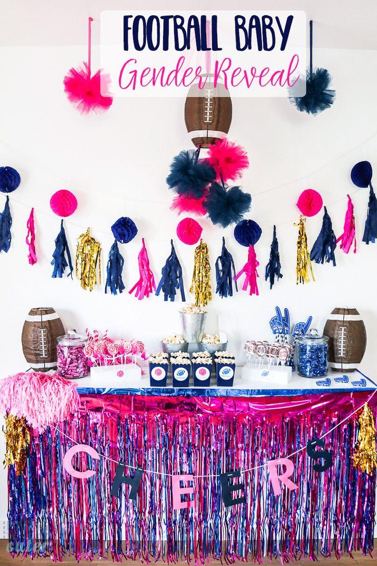 Football Gender Reveal Party Ideas  Best 20 Gender reveal football ideas on Pinterest
