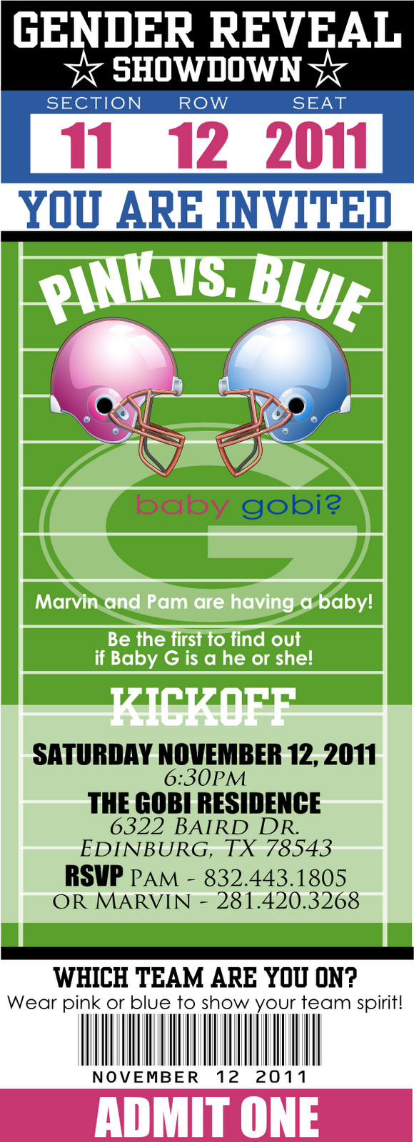 Football Gender Reveal Party Ideas  gender reveal party football Google Search